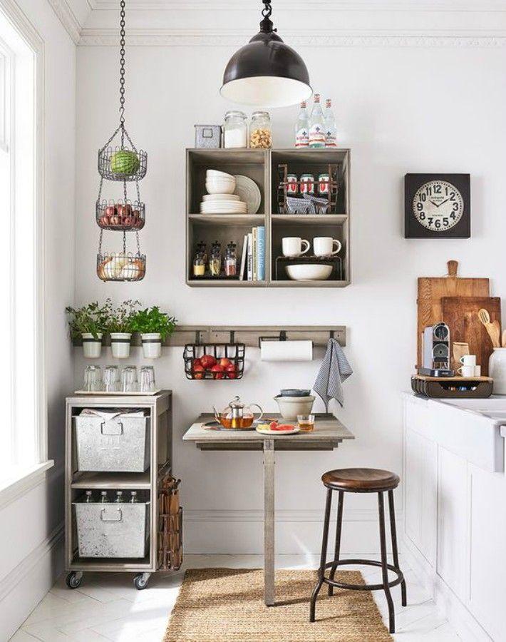 cocinas pequeñas con prácticos office