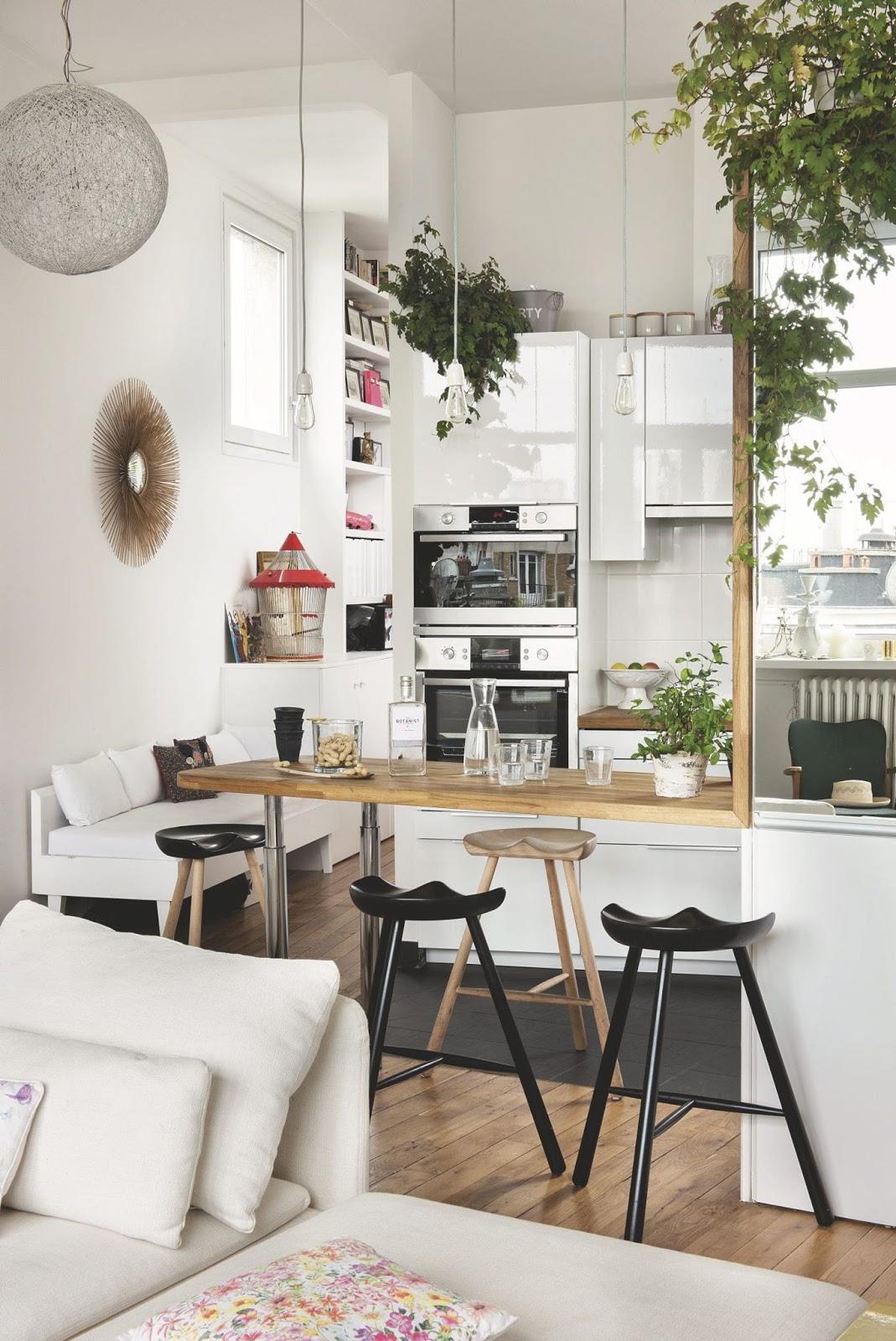 cocinas pequeñas - concepto abierto