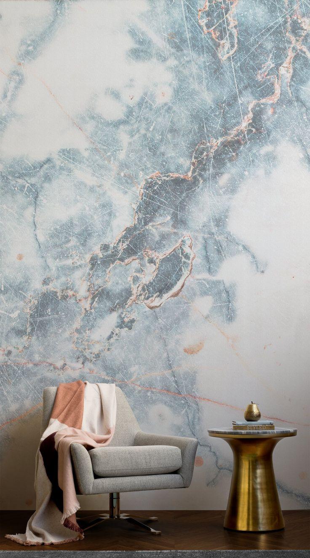 papel pintado - efecto mármol