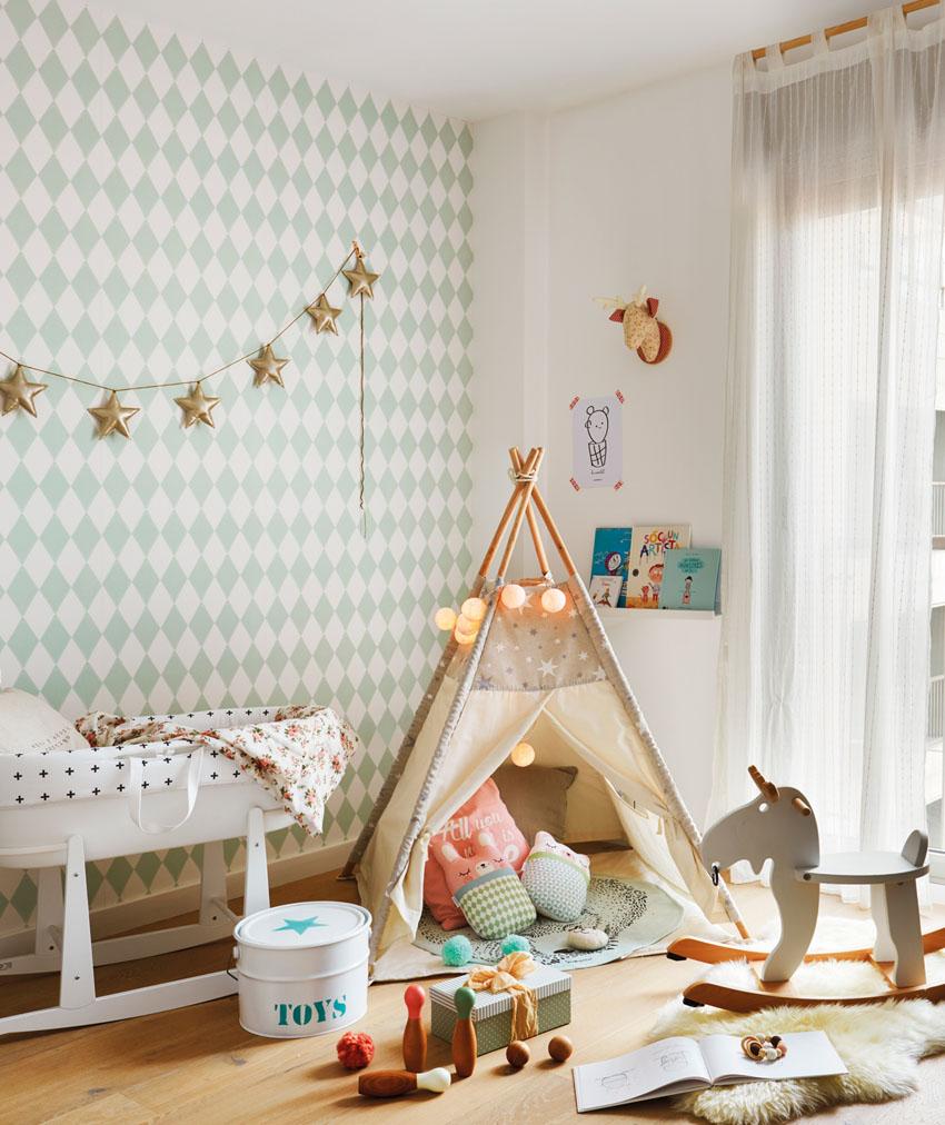 papel pintado - dormitorios infantiles