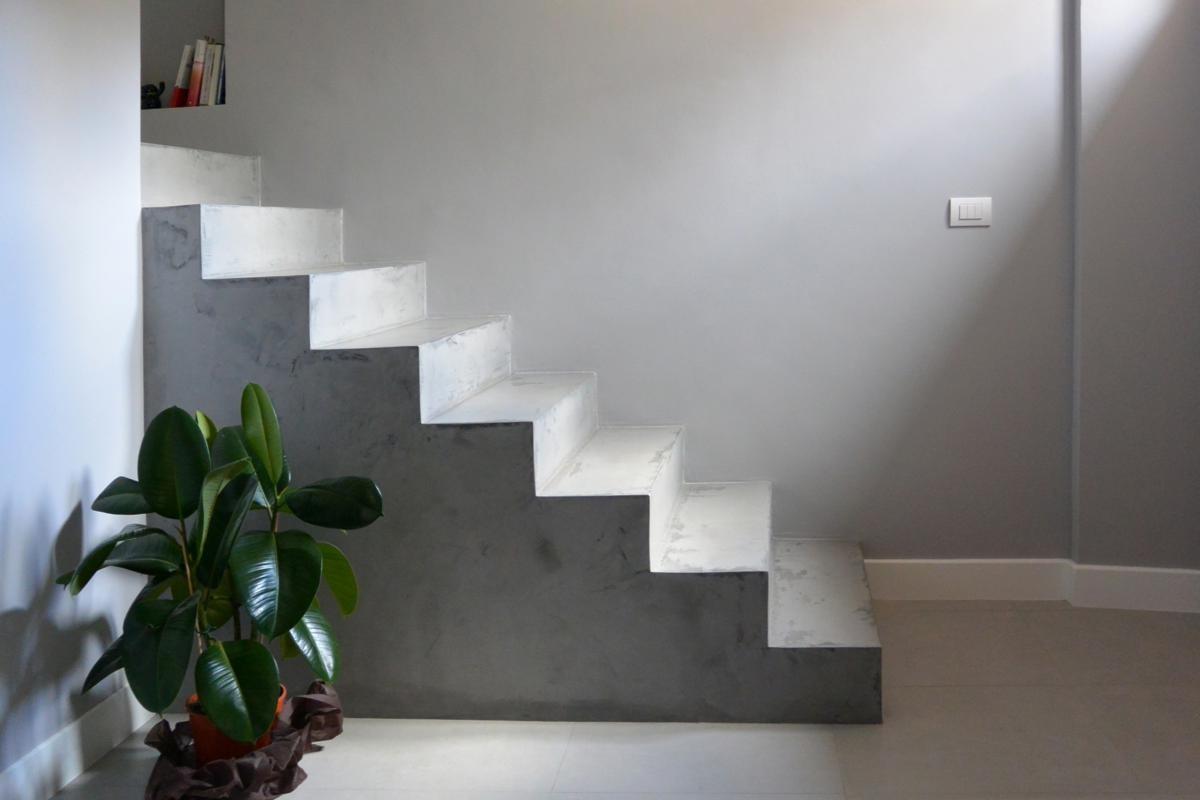 suelos de resina en escaleras