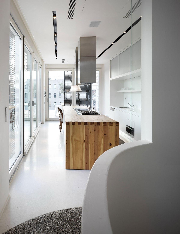 suelos de resina en cocina