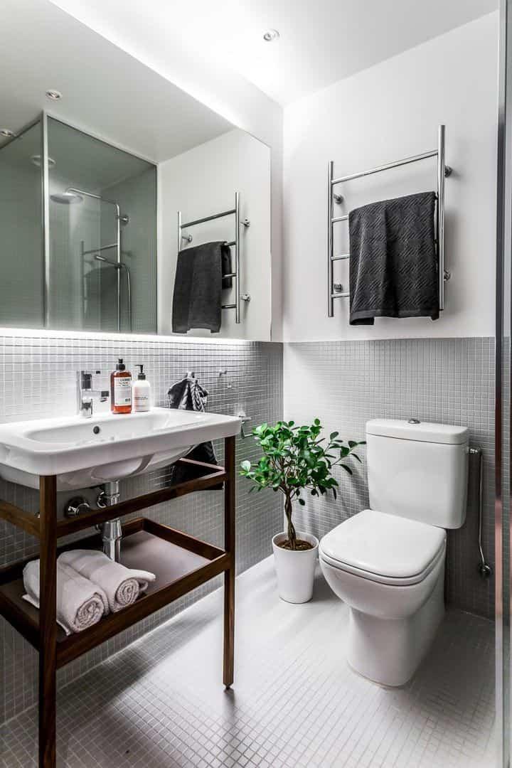 como renovar la cocina y el bano con pintura para azulejos 10