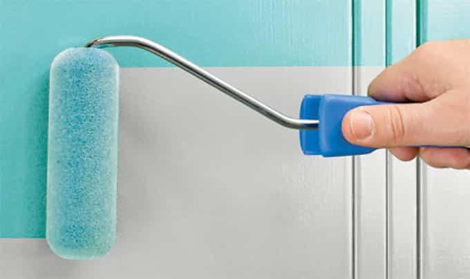 como renovar la cocina y el bano con pintura para azulejos 12
