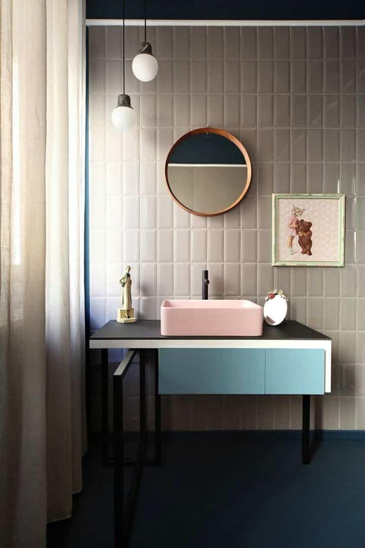 como renovar la cocina y el bano con pintura para azulejos 7