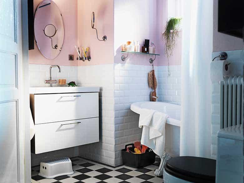 como renovar la cocina y el bano con pintura para azulejos 9