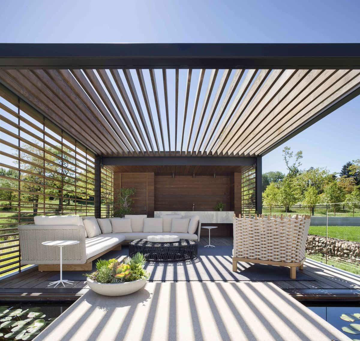 como crear sombra en el jardin o la terraza 7