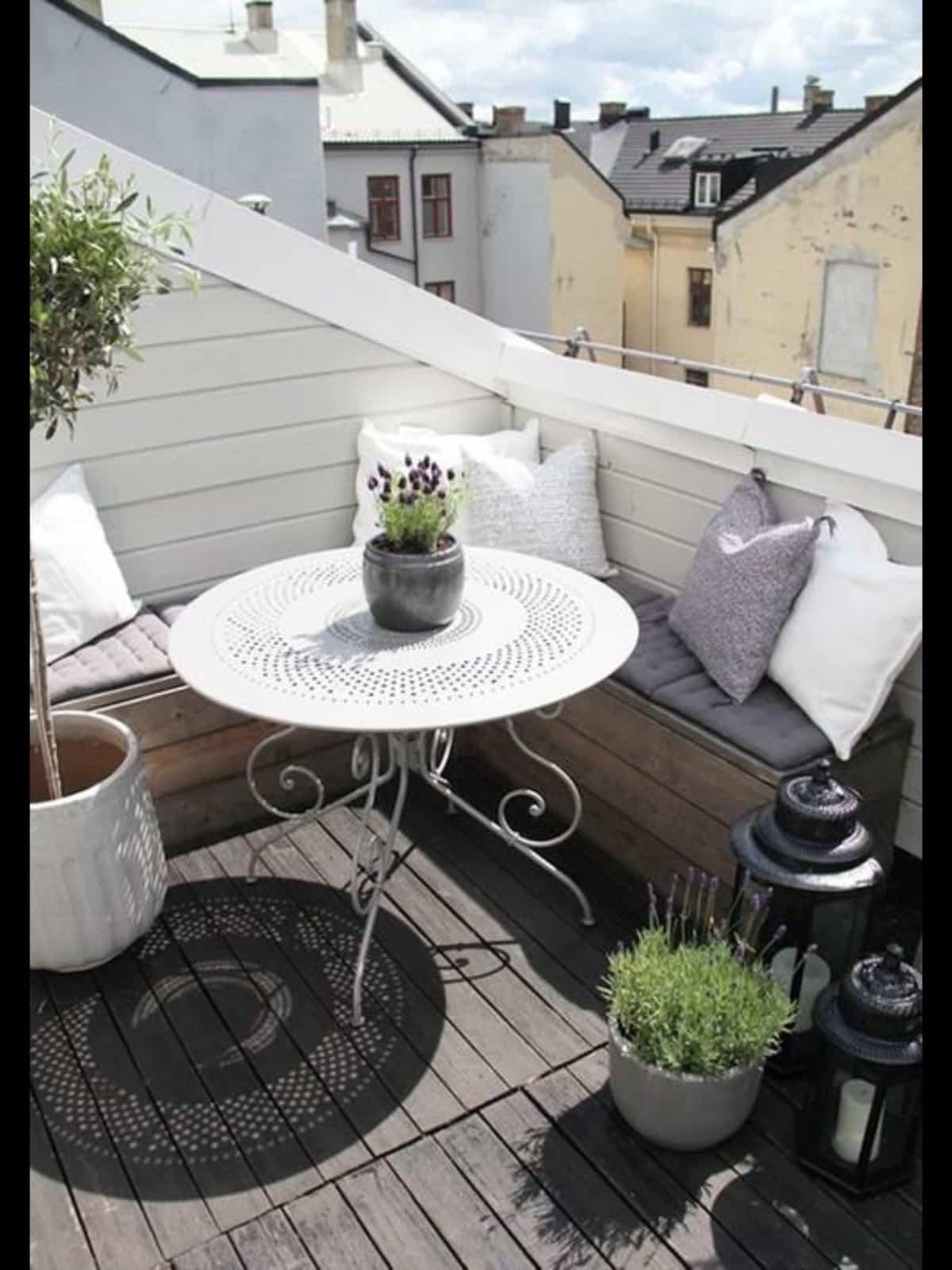 ideas para la decoracion de balcones pequenos 19