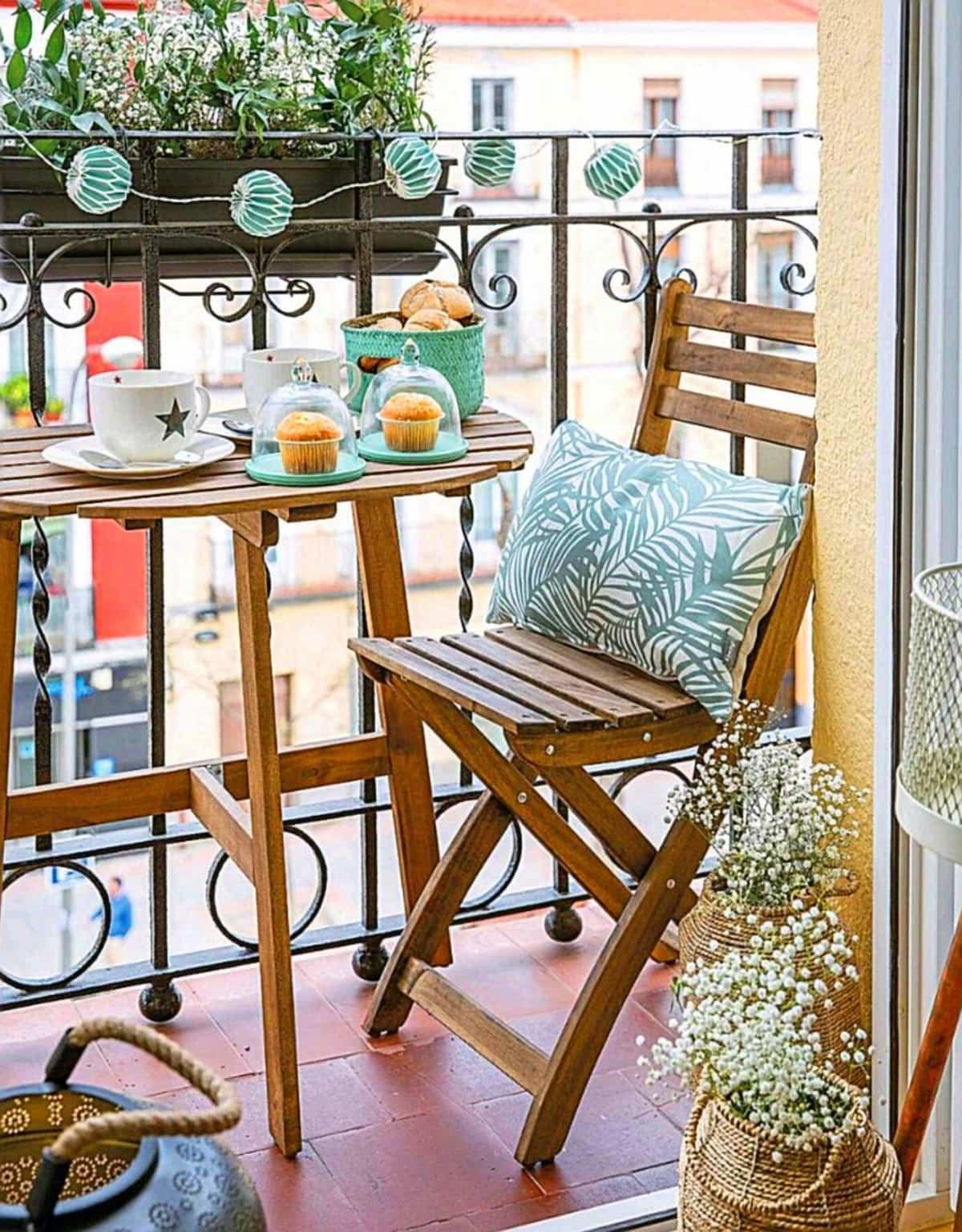 ideas para la decoracion de balcones pequenos 3