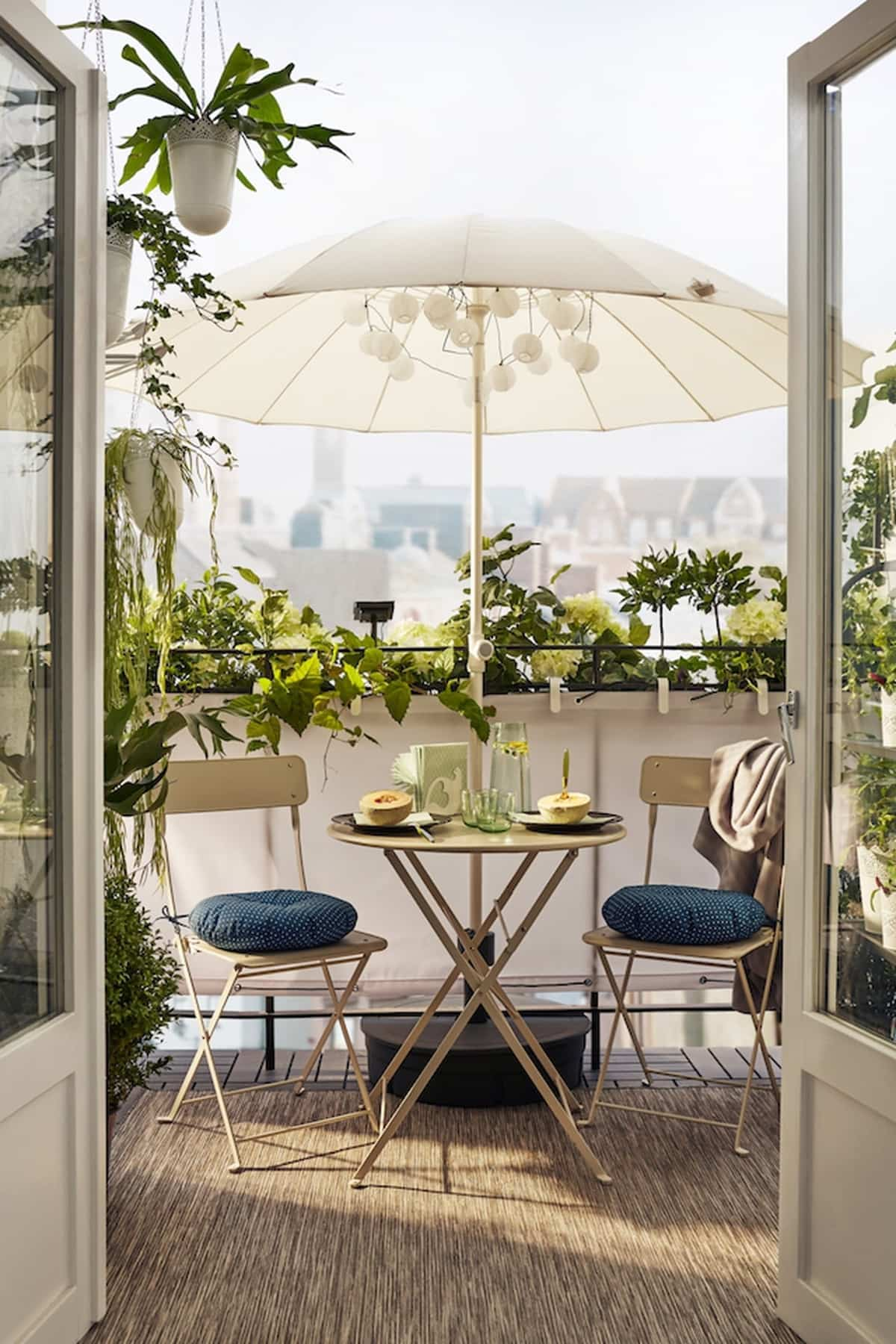 ideas para la decoracion de balcones pequenos 4