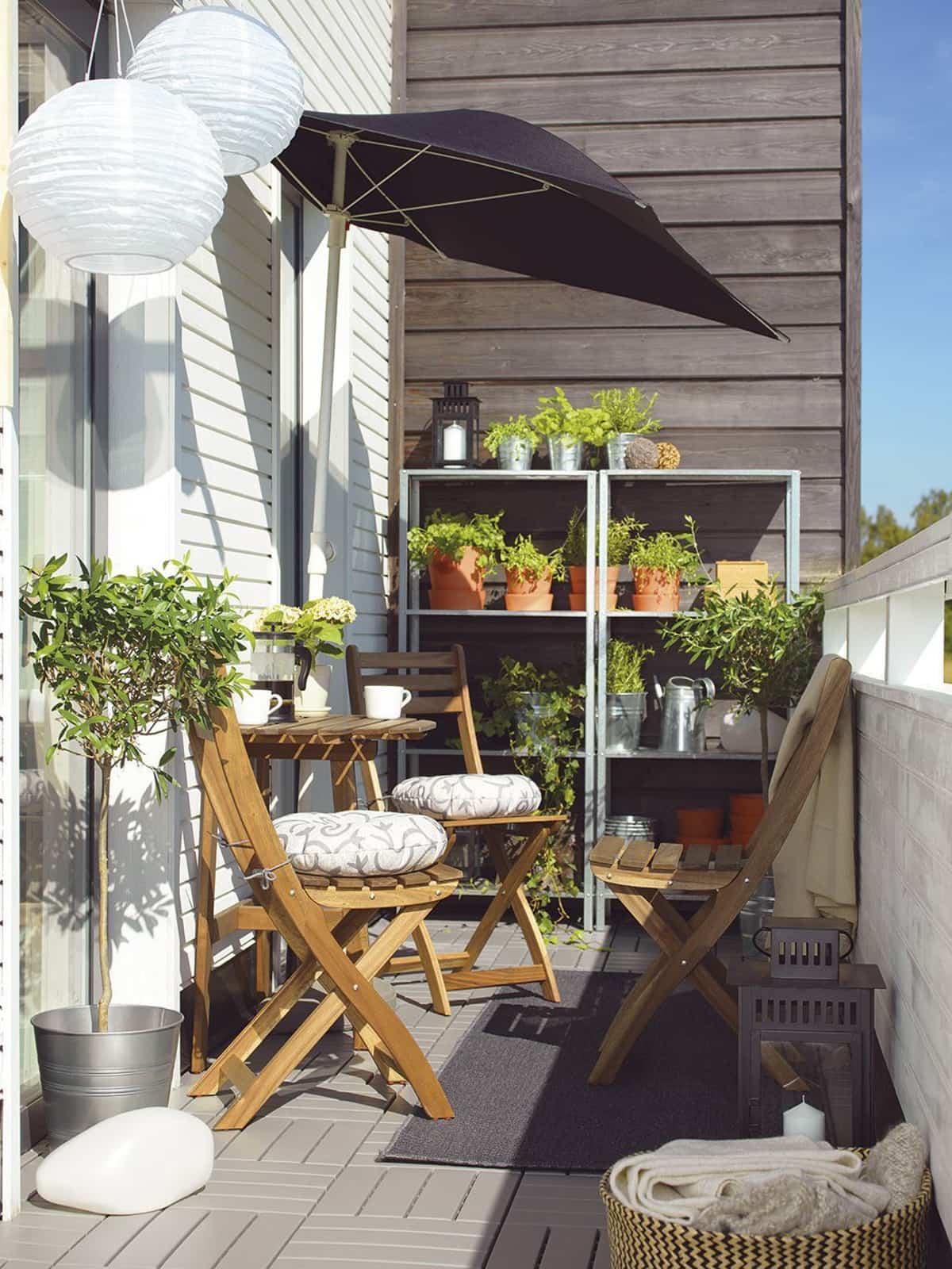 ideas para la decoracion de balcones pequenos 5