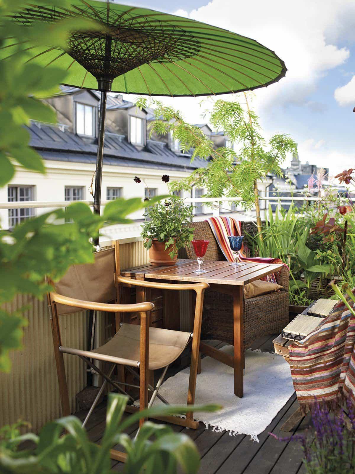 ideas para la decoracion de balcones pequenos 6