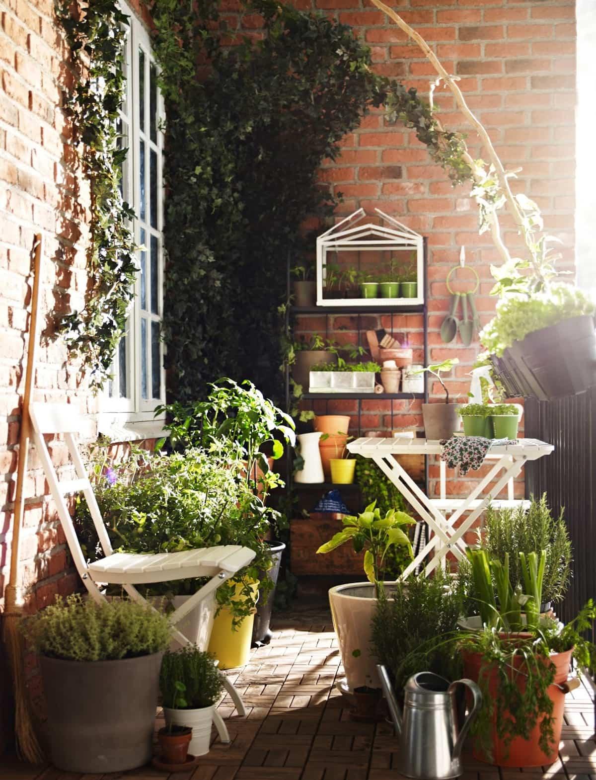 ideas para la decoracion de balcones pequenos 7