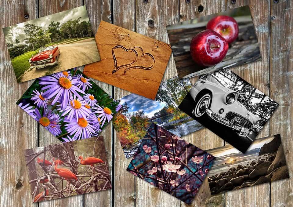 collages de fotografias