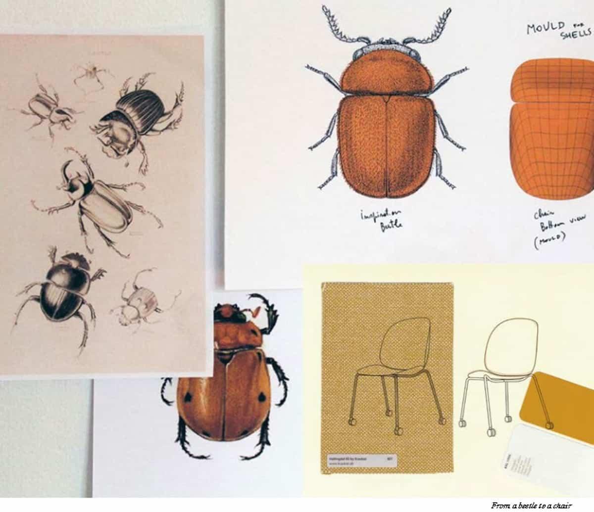 silla beetle icono de sofisticacion y estilo 8