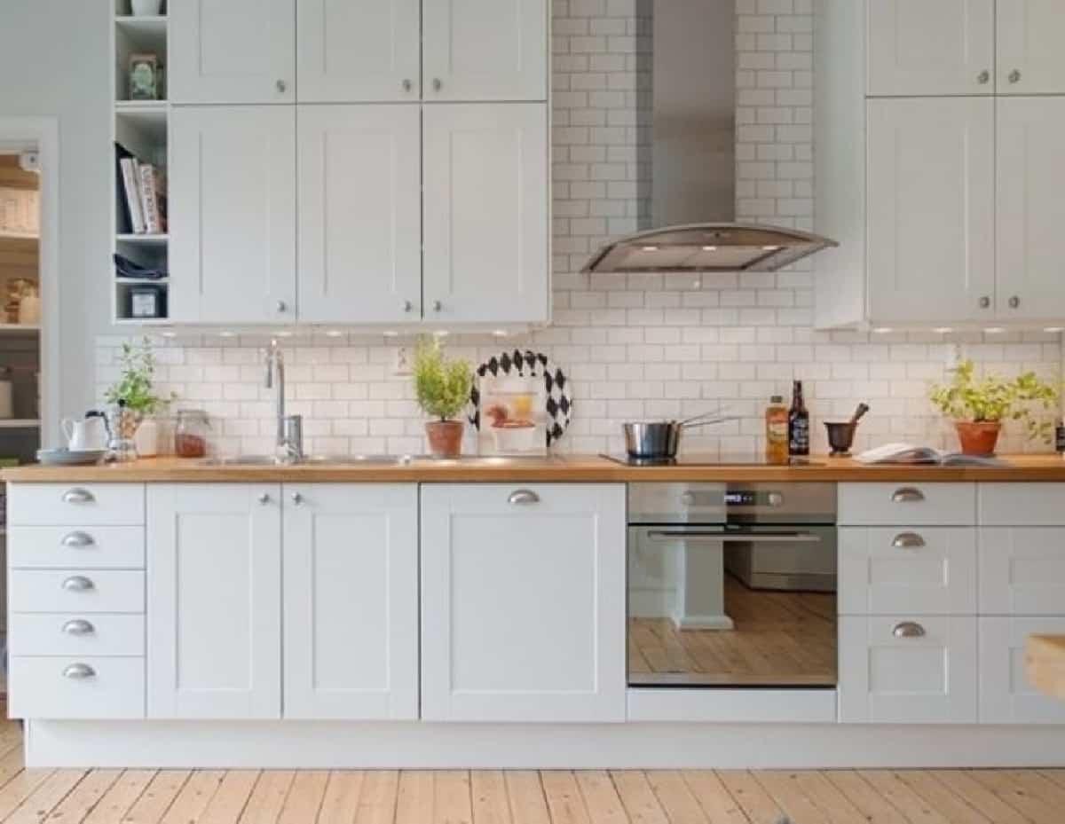 como decorar una cocina de estilo nordico 1