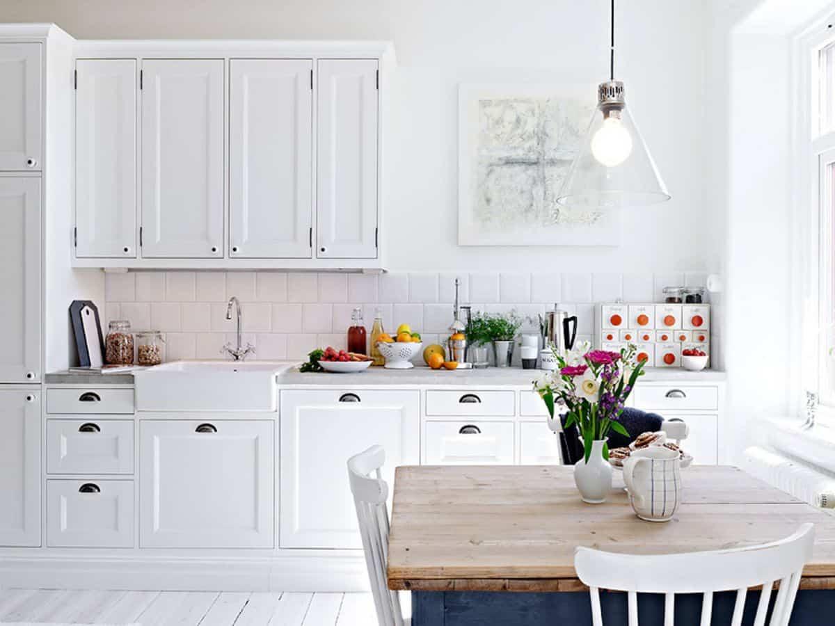 como decorar una cocina de estilo nordico 10