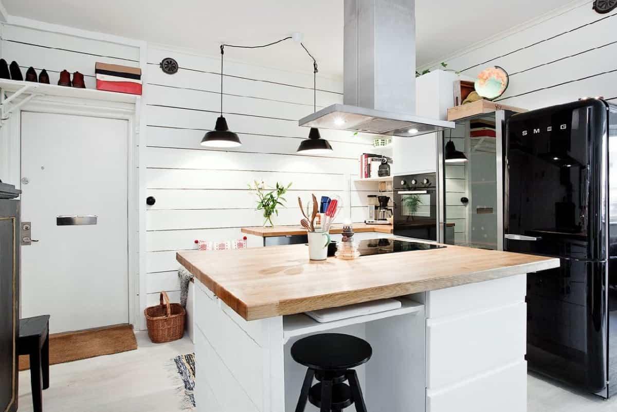 como decorar una cocina de estilo nordico 12
