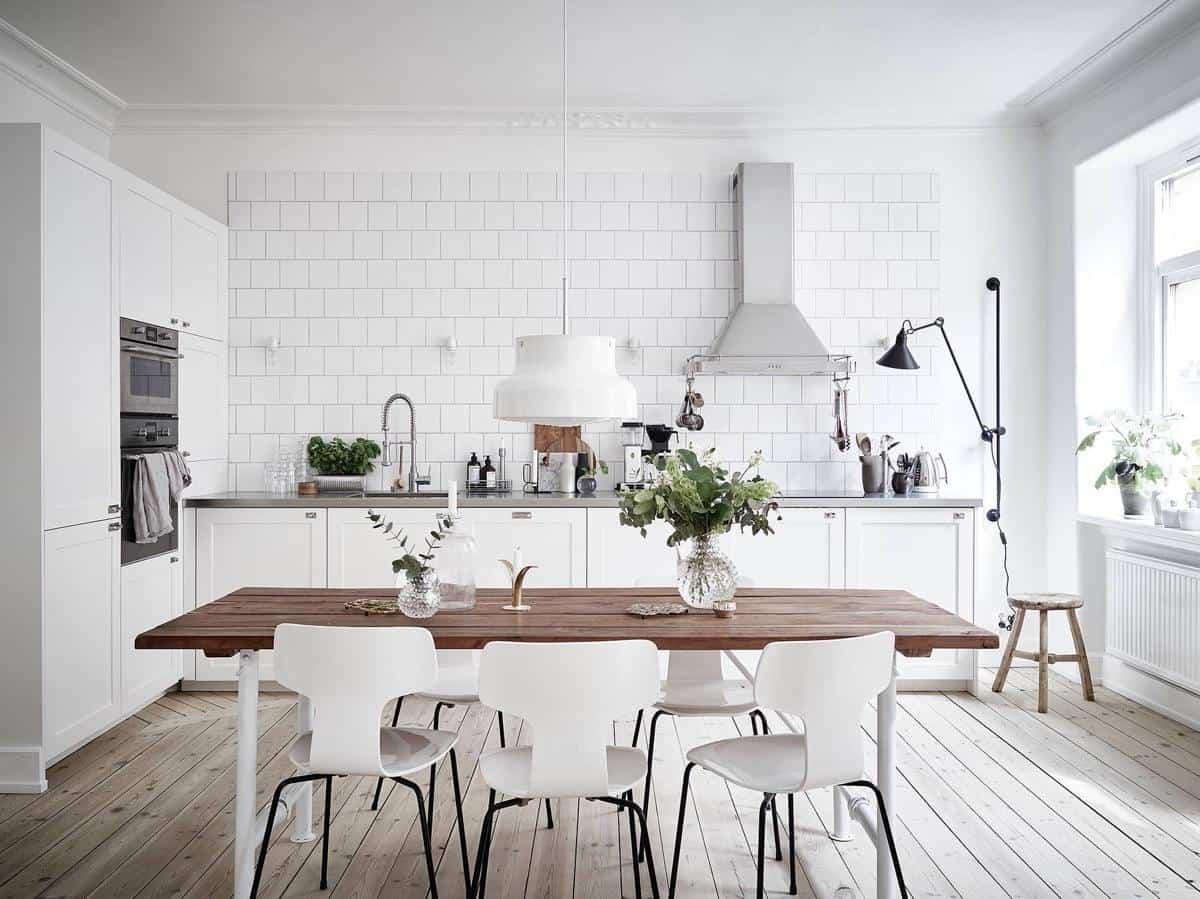 como decorar una cocina de estilo nordico 13