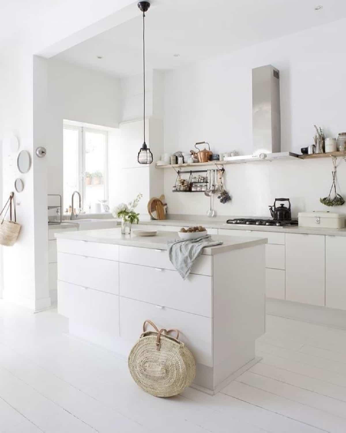 como decorar una cocina de estilo nordico 2