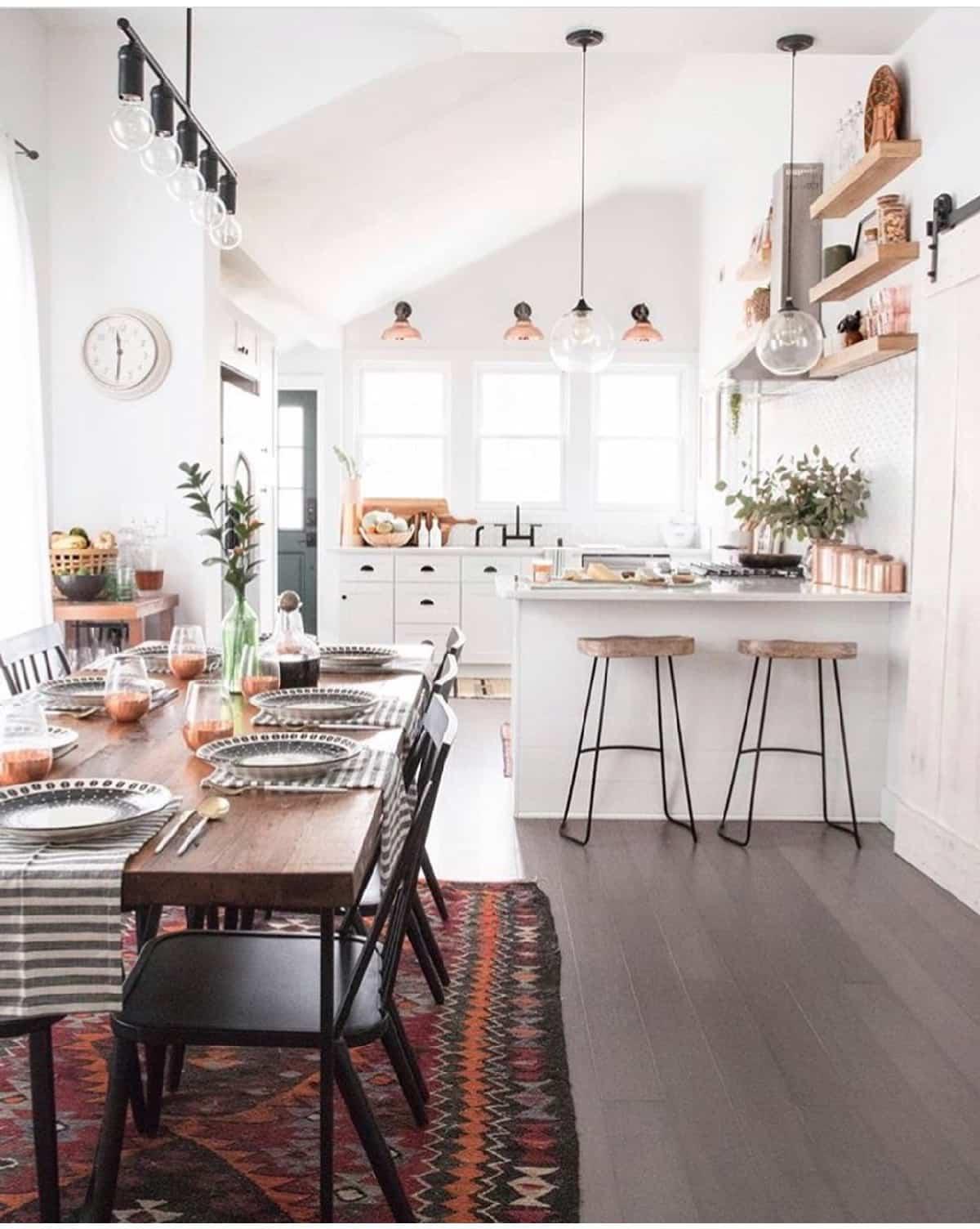 como decorar una cocina de estilo nordico 3
