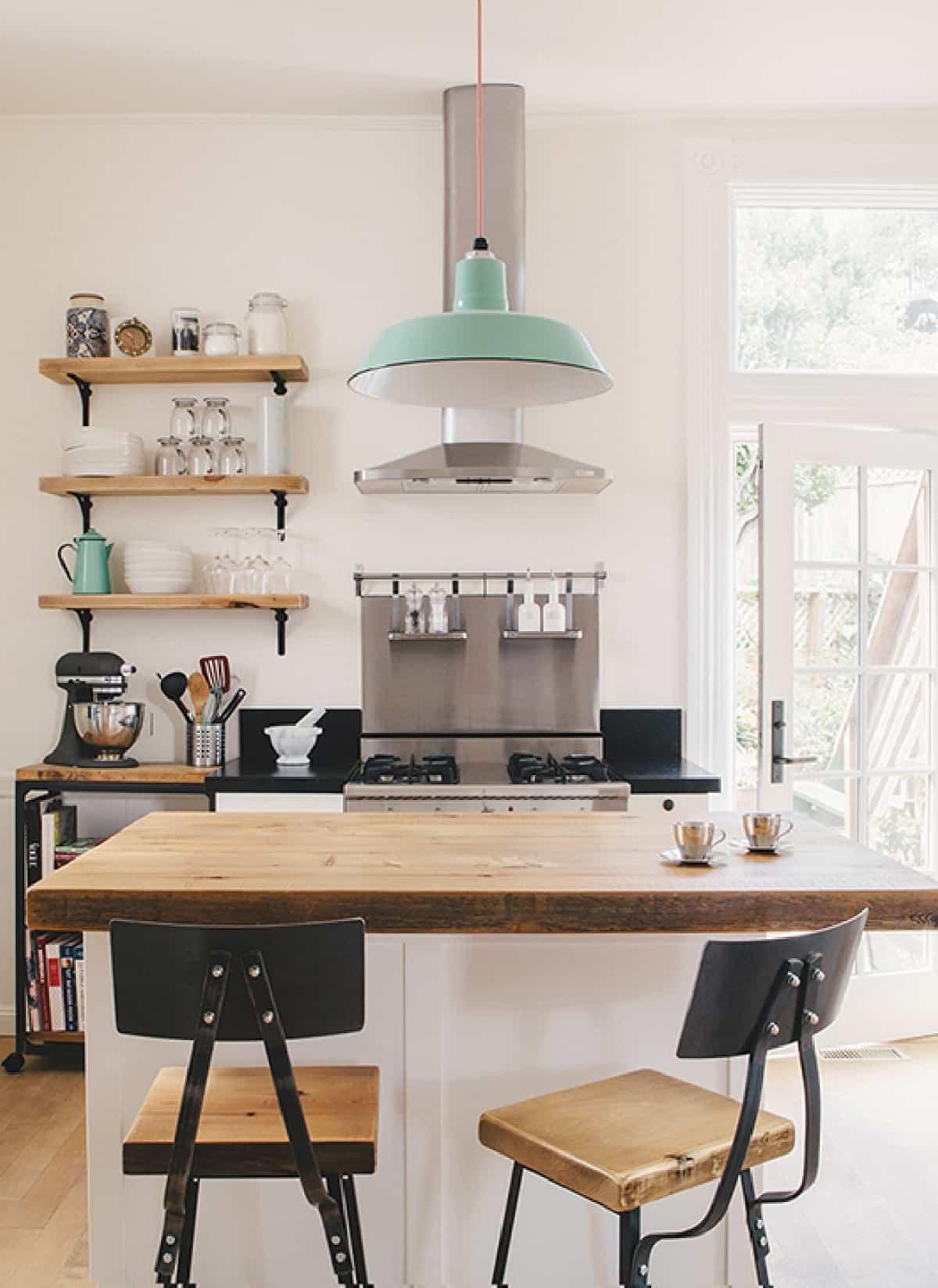 como decorar una cocina de estilo nordico 5