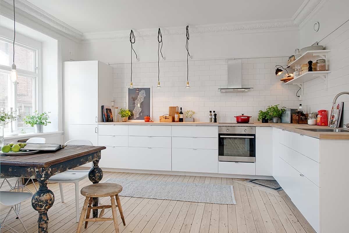 como decorar una cocina de estilo nordico 7