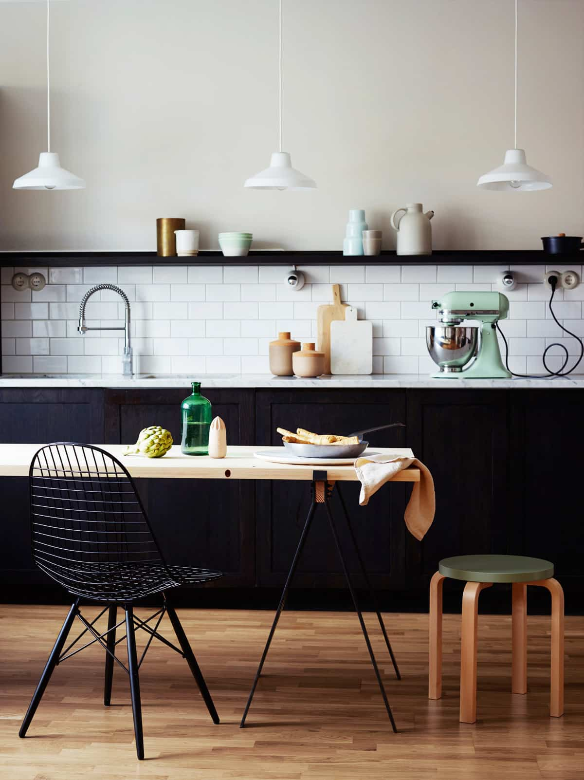 como decorar una cocina de estilo nordico 8