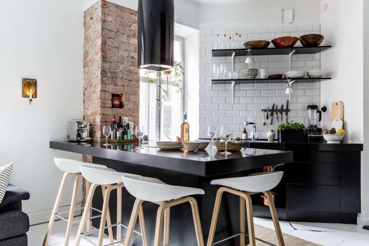 como decorar una cocina de estilo nordico 9