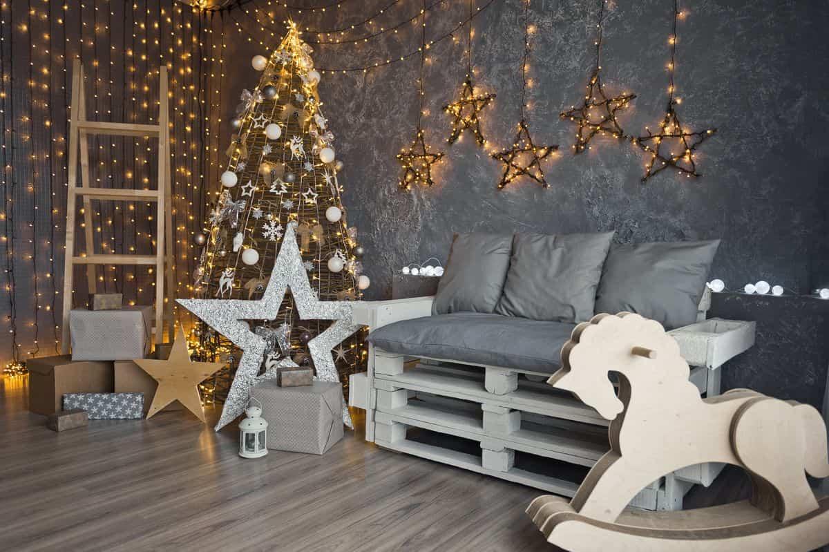 como iluminar la casa en navidad 1