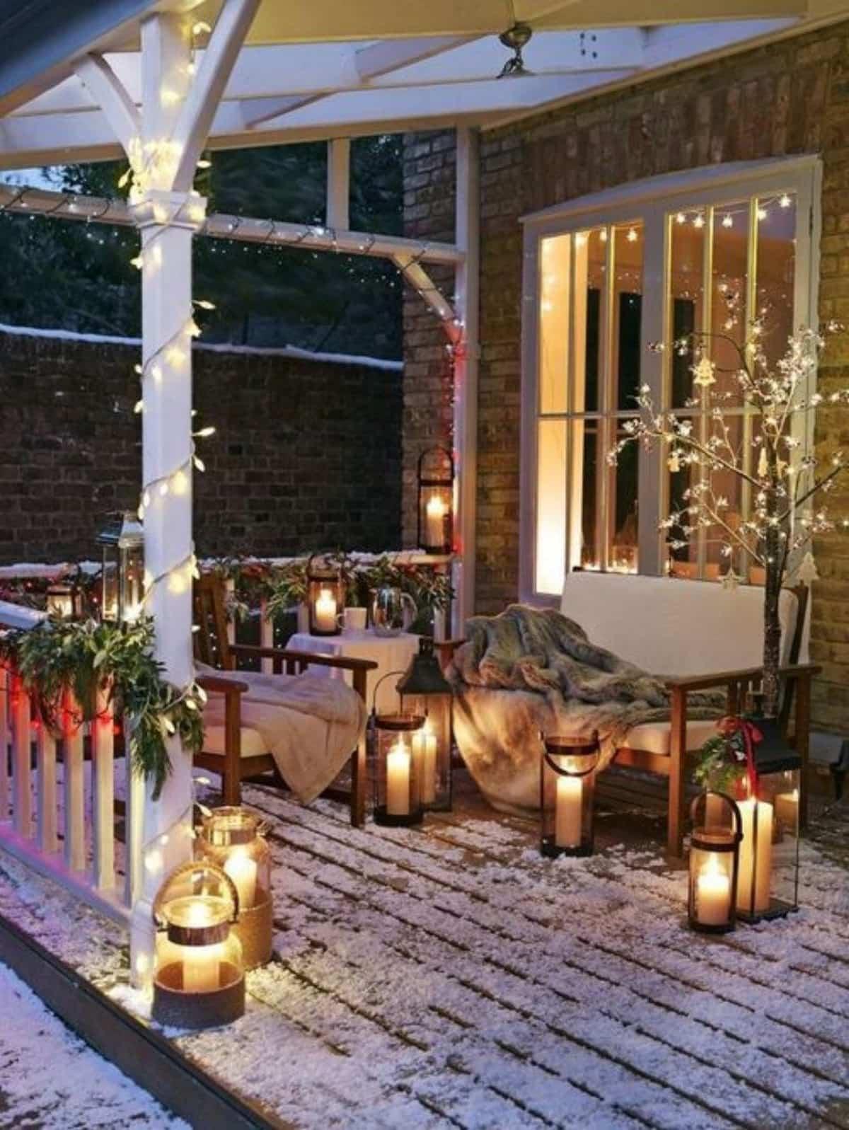 como iluminar la casa en navidad 12