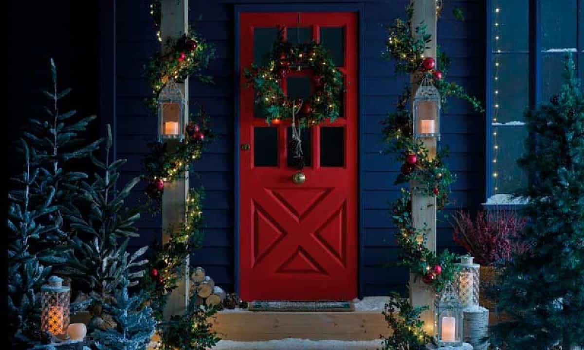 como iluminar la casa en navidad 8