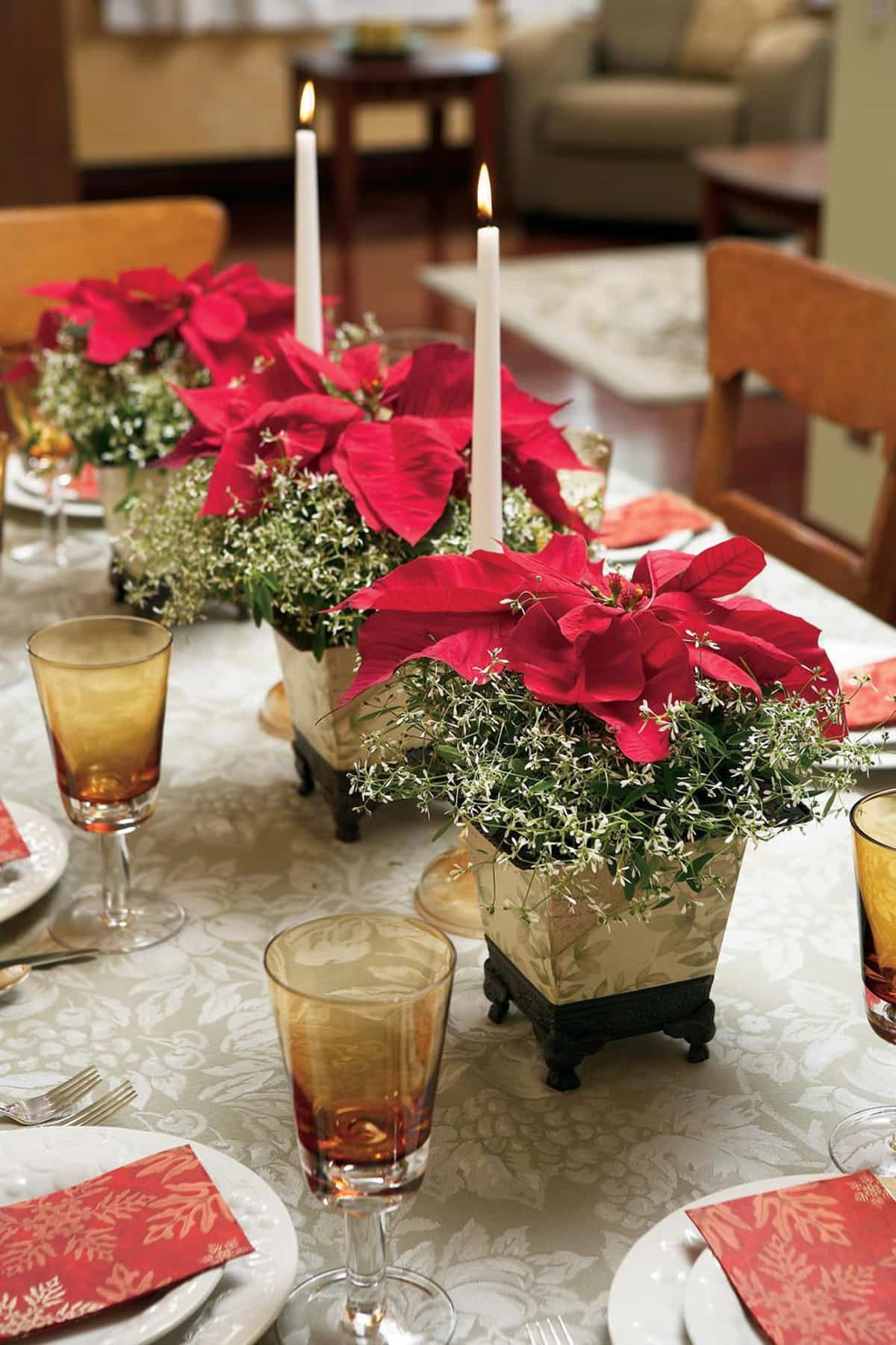ideas originales para centros de mesa navidenos 2