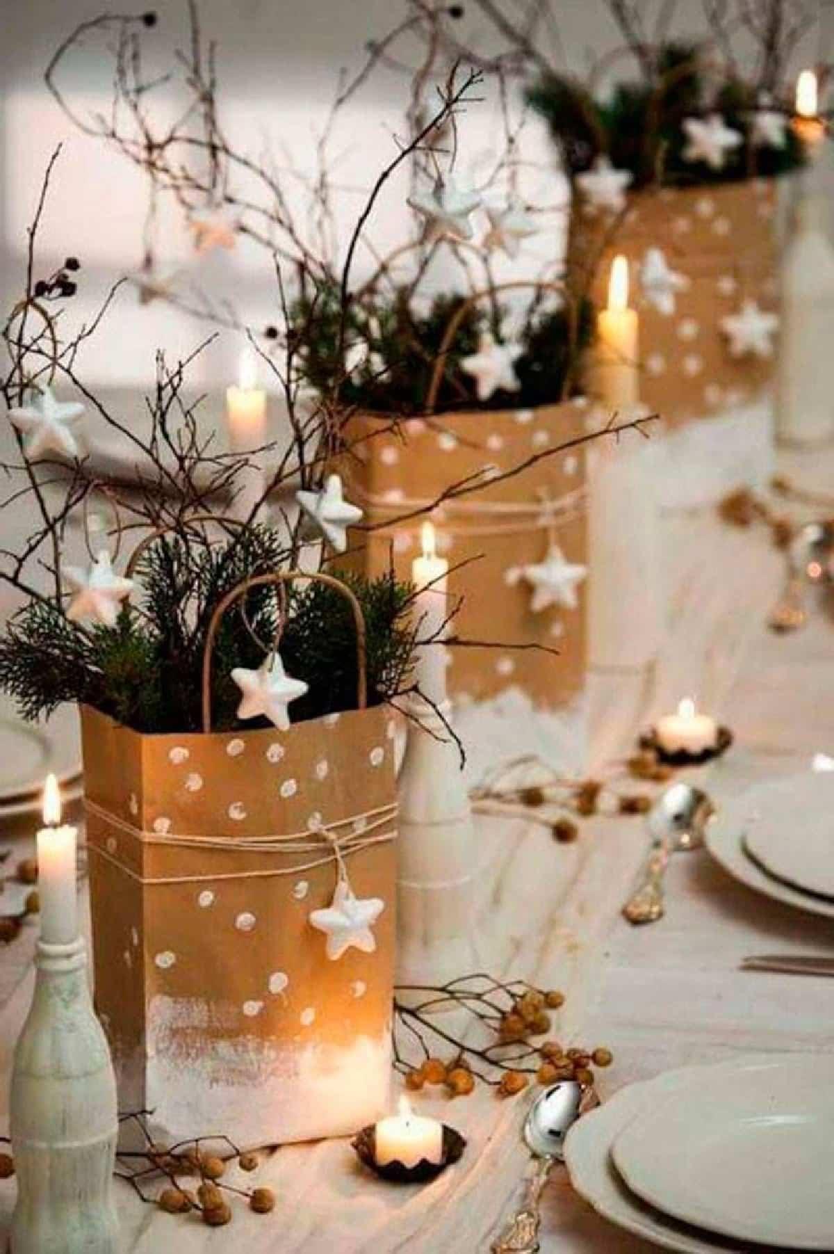 ideas originales para centros de mesa navidenos 4