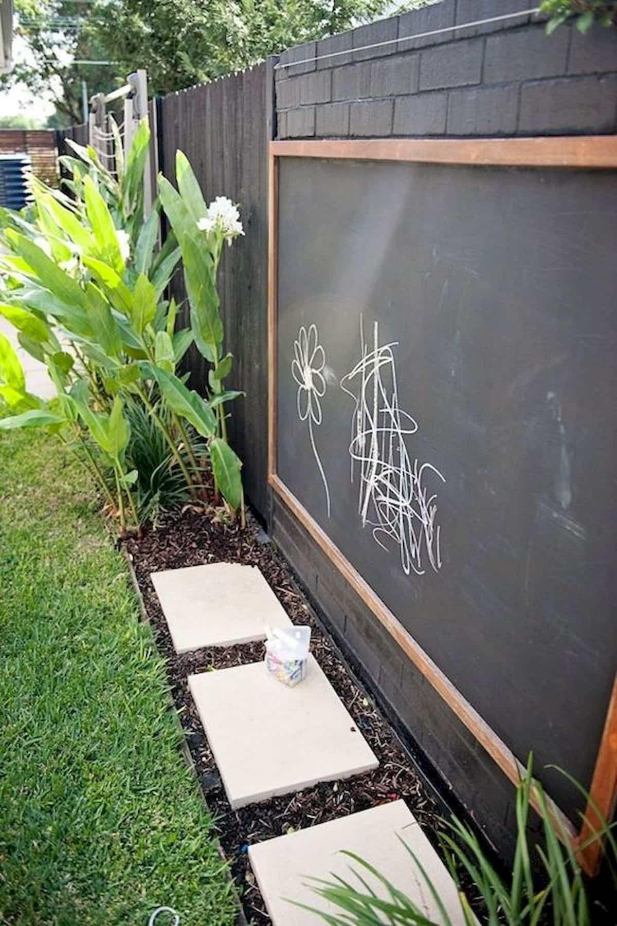 pintura de pizarra ideas y consejos para decorar la casa 13