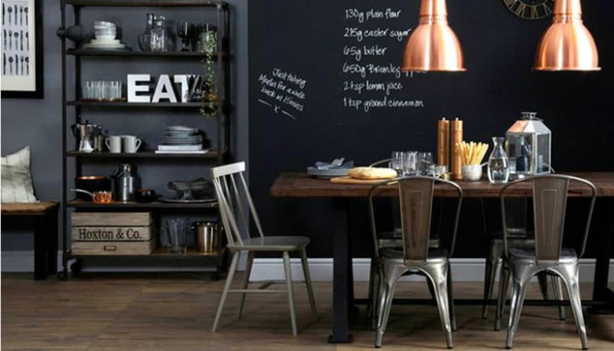 pintura de pizarra ideas y consejos para decorar la casa 2
