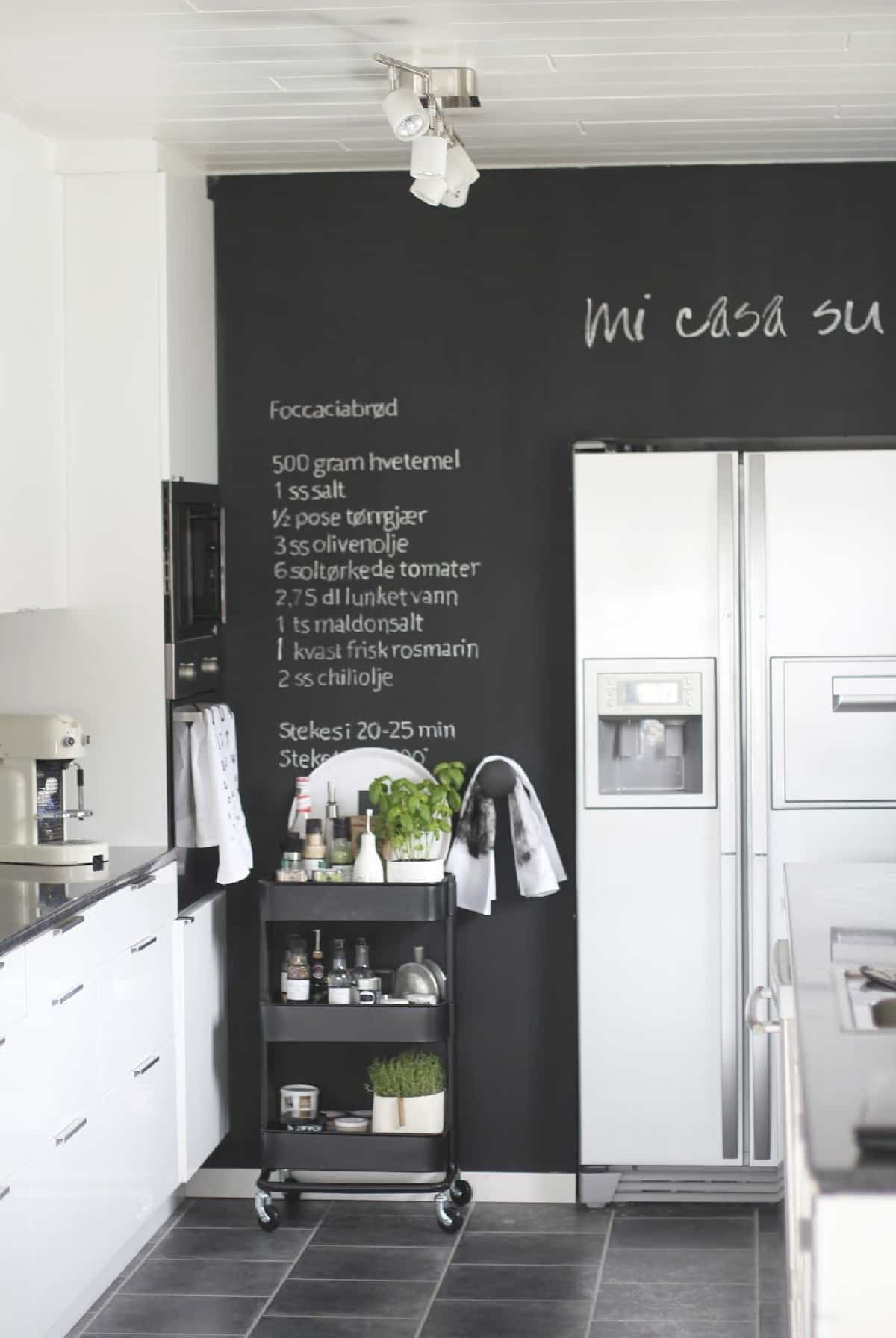 pintura de pizarra ideas y consejos para decorar la casa 4