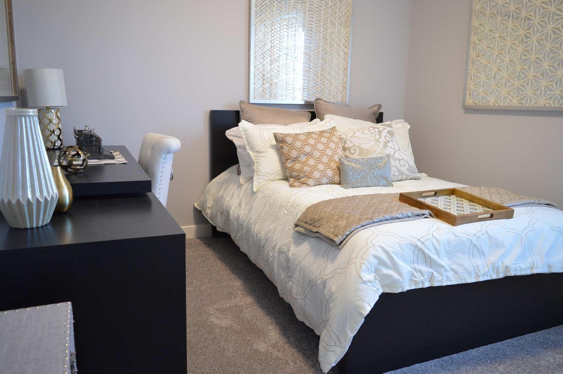 La tendencia de vestir los dormitorios con fundas nórdicas