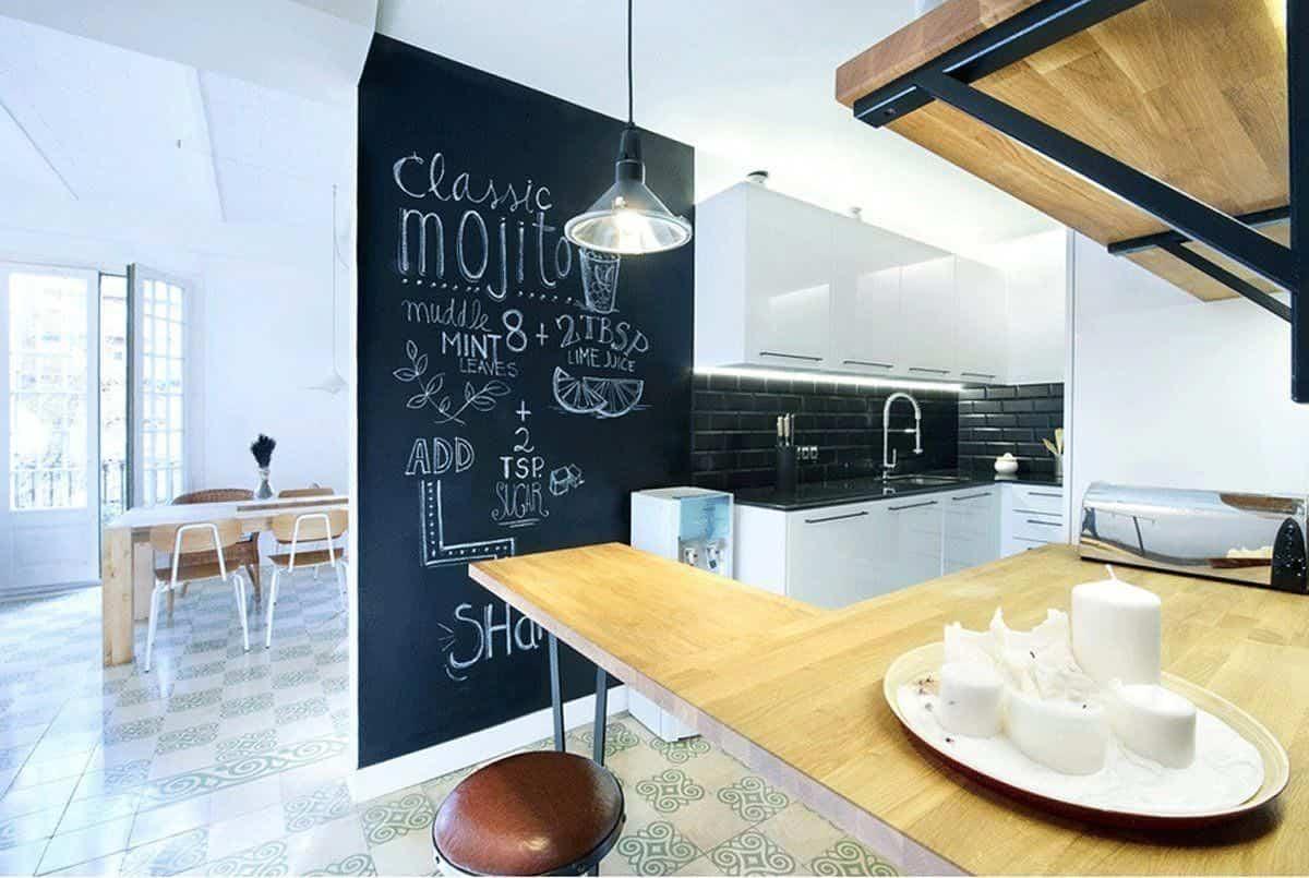 ideas para renovar las paredes de la cocina sin obras 1