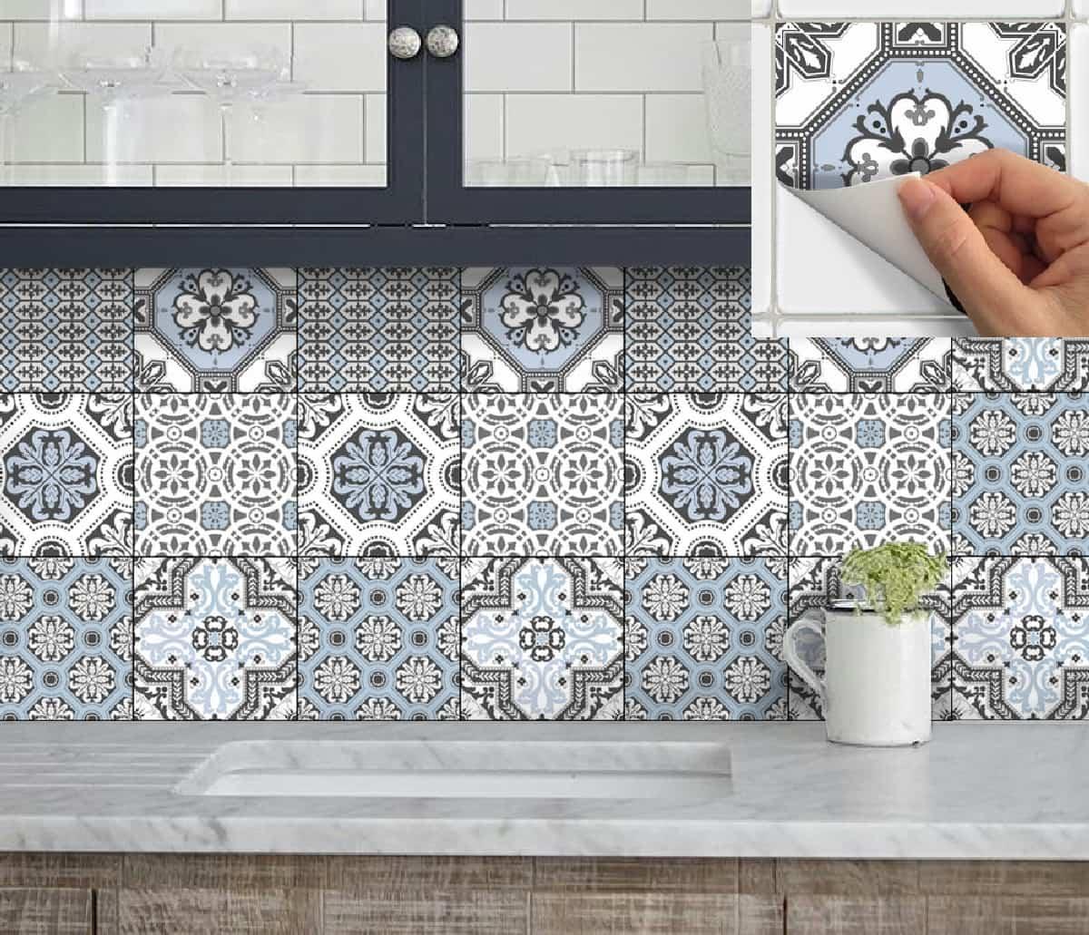 ideas para renovar las paredes de la cocina sin obras 11