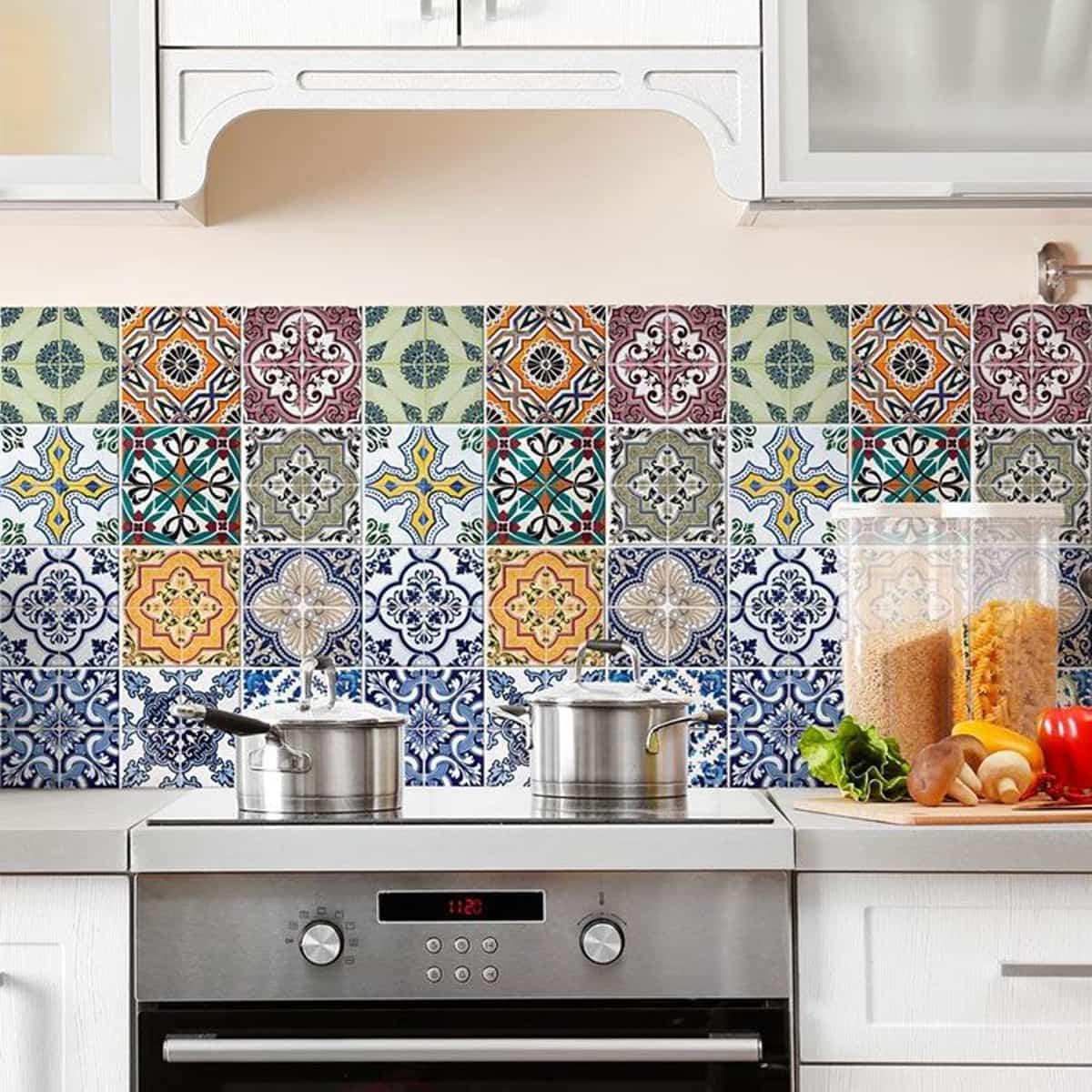 Ideas para renovar las paredes de la cocina sin obras