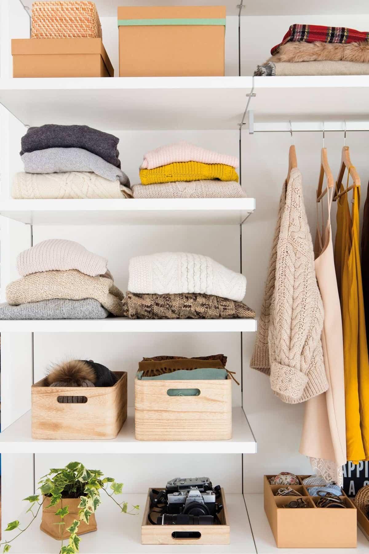 tips para mantener tu armario ordenado 4