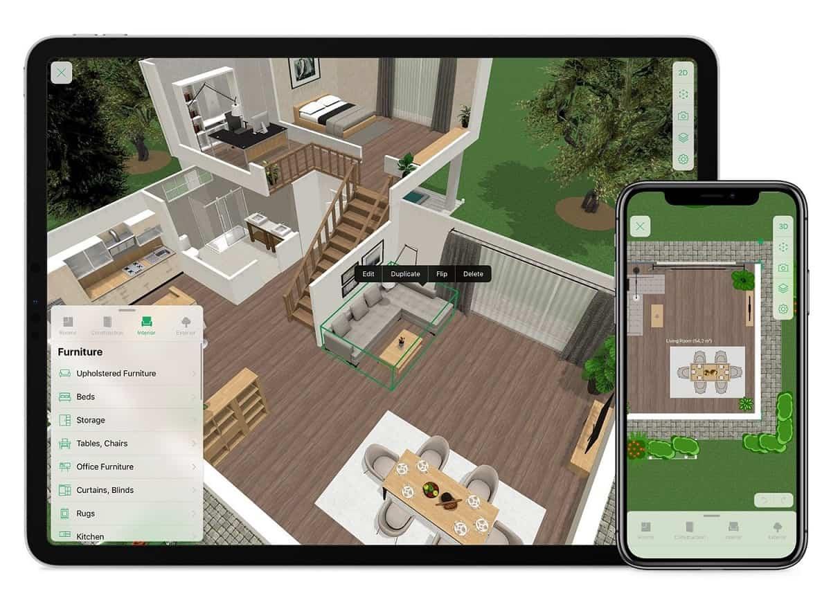 apps para redisenar y decorar tu hogar 1