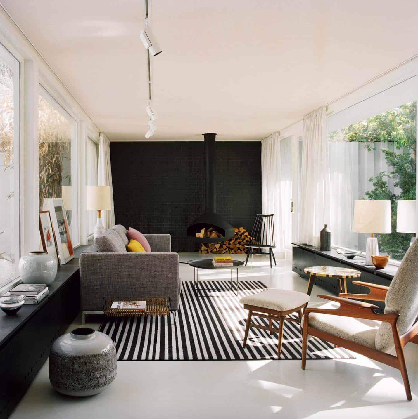 ideas para decorar tu hogar con el color negro 12