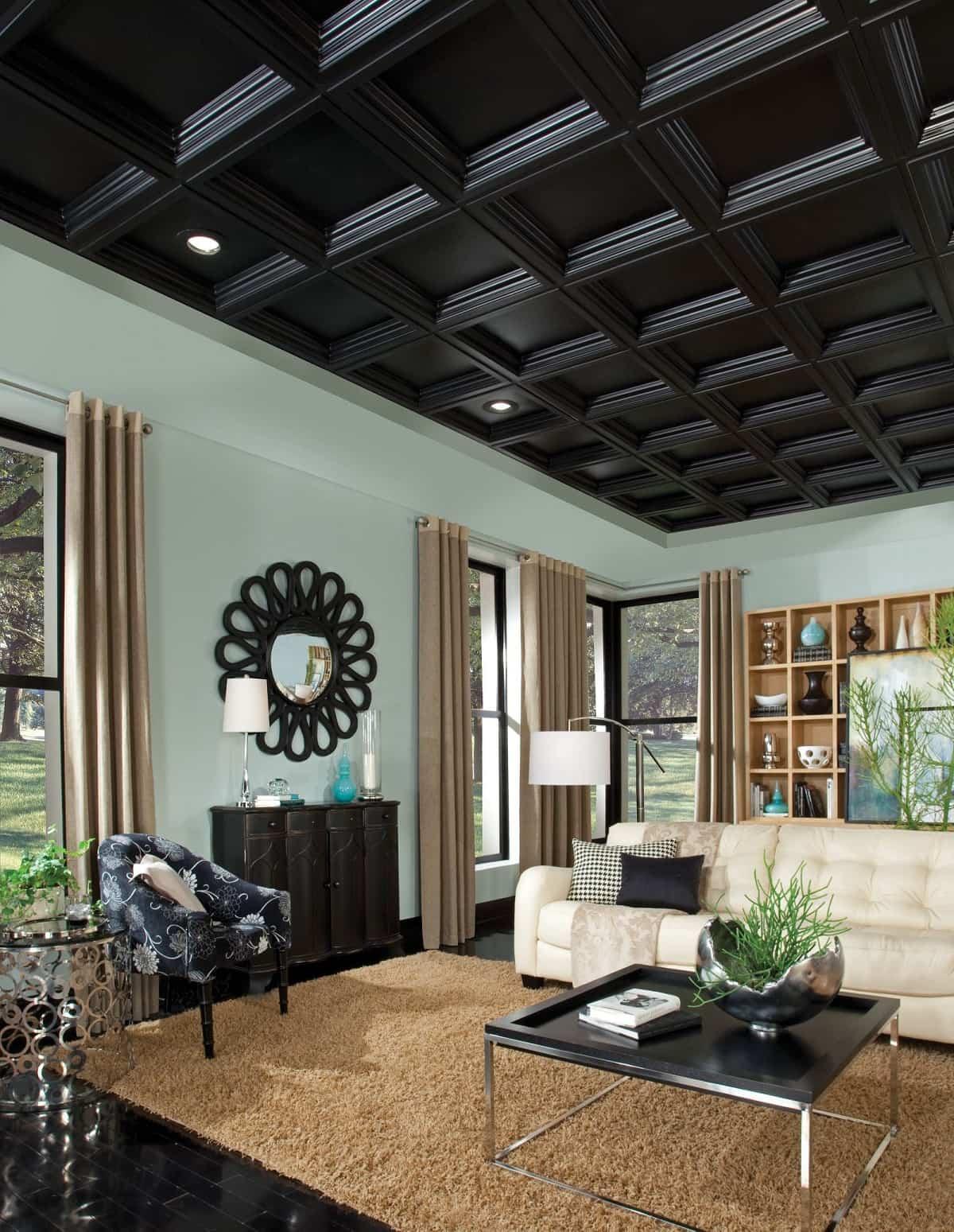 ideas para decorar tu hogar con el color negro 14