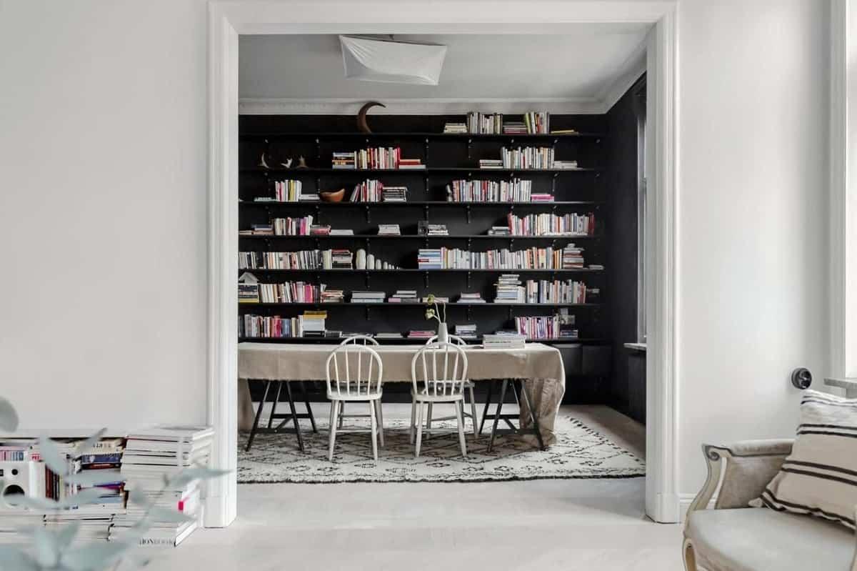ideas para decorar tu hogar con el color negro 16