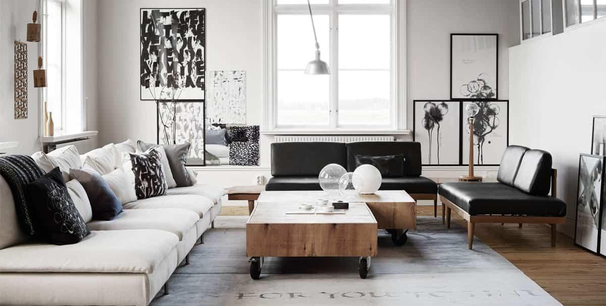 ideas para decorar tu hogar con el color negro 18