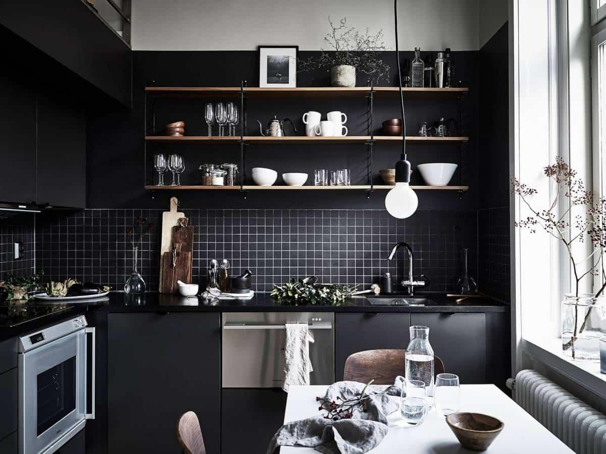 ideas para decorar tu hogar con el color negro 9