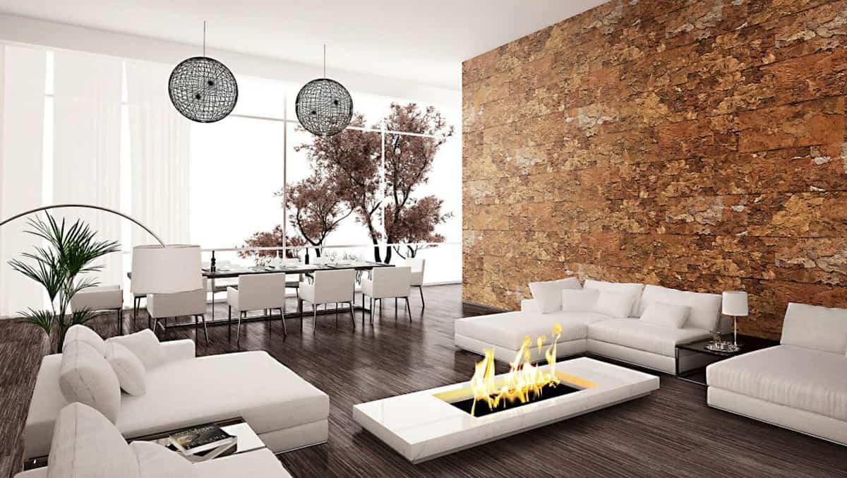 Descubre las posibilidades del corcho para revestir y aislar la casa