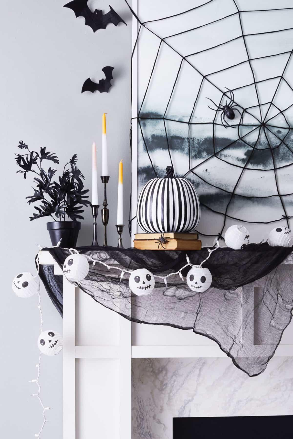 como decorar la casa para la fiesta de halloween 11